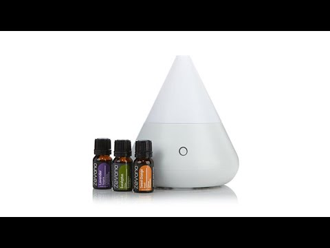 Greenair AromaMister Diffuser Set with Oils
