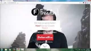 شرح شامل لموقع freedom tm بديل جوجل أدسنس على يوتيوب.