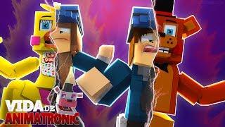 Minecraft: VIDA DE ANIMATRONIC #06 - VIRAMOS ANIMATRONICS! ( FIVE NIGHTS AT FREDDY