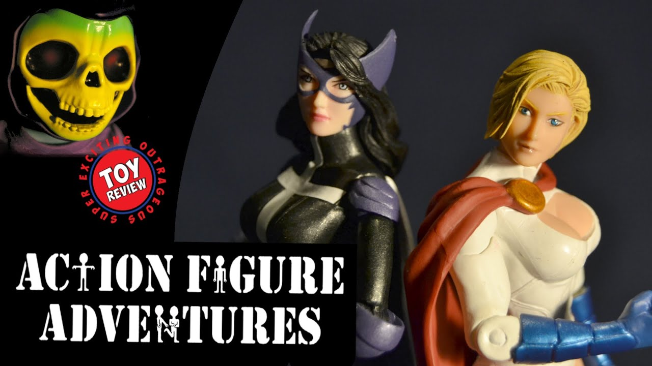 world's finest 2-pack huntress & power girl dc collectibles - action
