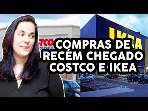 NOSSO PRIMEIRO DIA EM TORONTO - Costco, IKEA e mais!
