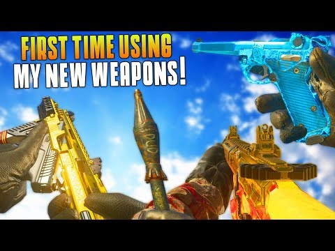 I GOT ALL 7 OF THE NEW DLC WEAPONS! (MWR New DLC Weapon Gameplay & Supply Drop Opening) - MatMicMar