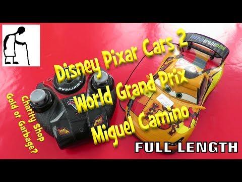 Disney Pixar Cars 2 World Grand Prix Miguel Camino FULL LENGTH