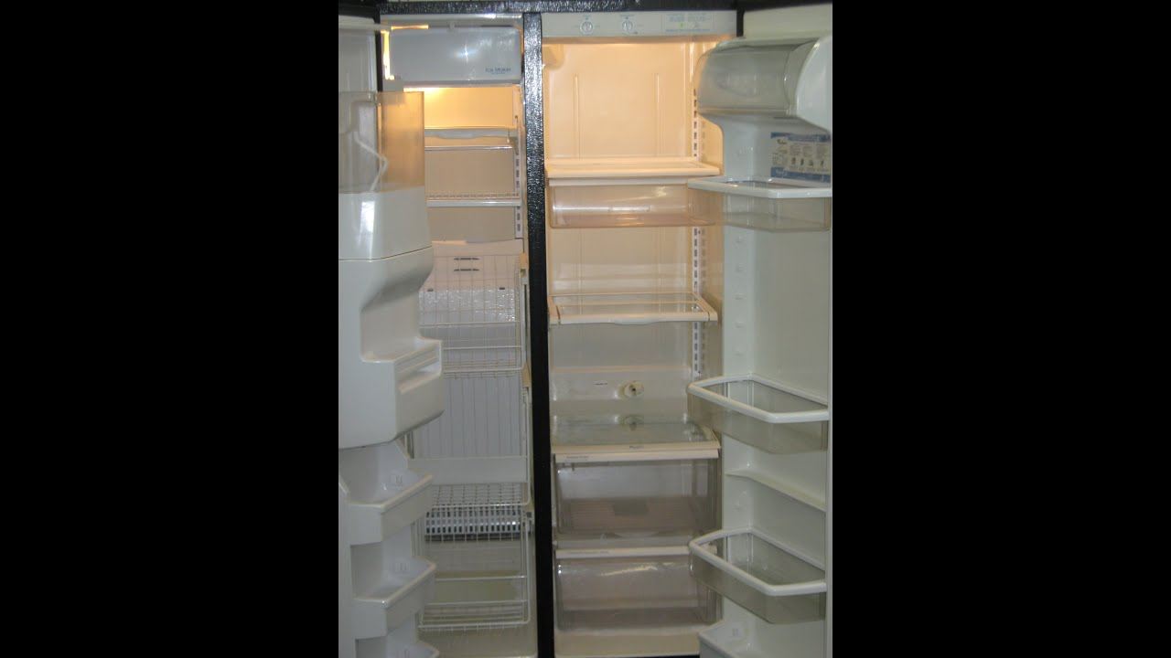 Refrigerated Black Side By Side Refrigerator