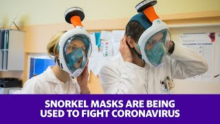 During the global shortage of medical supplies, a team from czech technical university worked with volunteers to transform masks for professionals to...