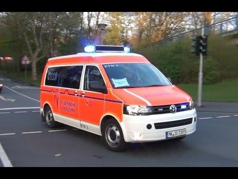 Neuer KTW + RTW BF Iserlohn + RTW JUH...