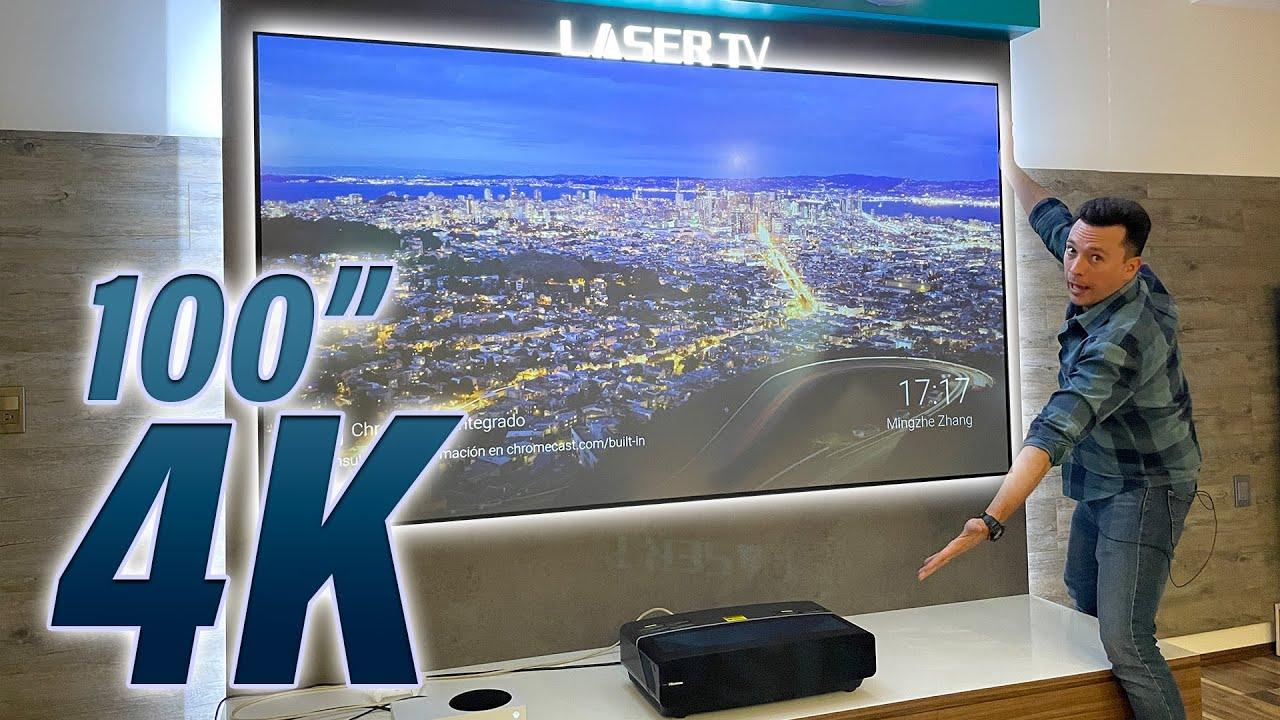 Hisense Laser TV - 100 Pulgadas ¡WOW!