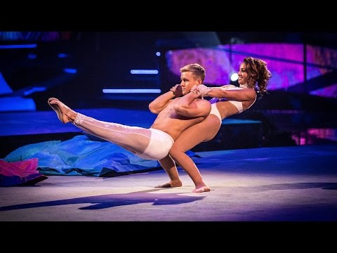 Amelle Berrabah's Floor Performance to 'It's Oh So Quiet'  - Tumble: Episode 2 - BBC One