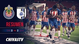 3 puntos en casa | Resumen | Chivas 3-2 Querétaro | Highlights | J18 LigaMX AP19