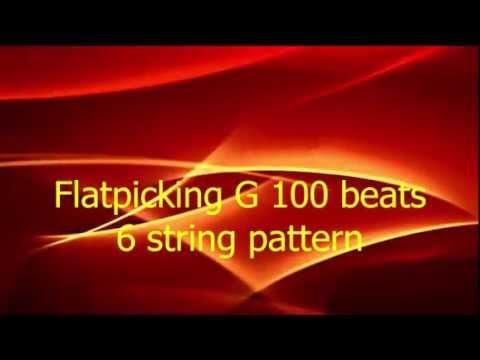 Flatpicking G 100 beats