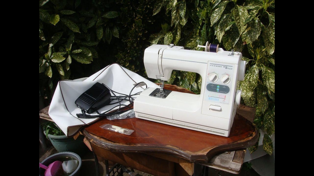 Janome Sewing Machine My Style 22 Also Called Easy Jeans