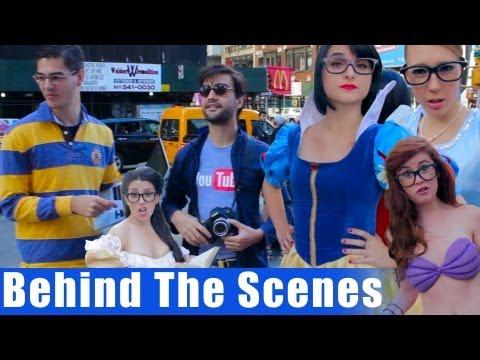 BEHIND THE SCENES - Hipster Disney Princesses