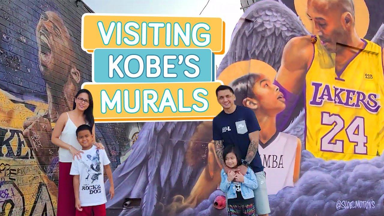 VISITING KOBE'S MURALS - Alapag Family Fun
