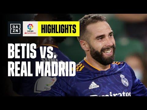 Il gol di Carvajal lancia il Real: Betis-Real Madrid 0-1   LaLiga   DAZN Highlights