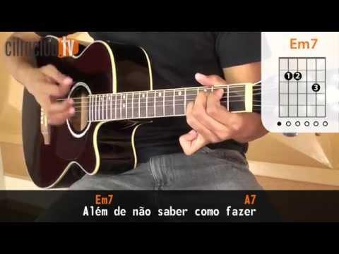 Pra Você Guardei o Amor - Nando Reis aula de violão simplificada