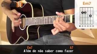 Pra Você Guardei o Amor - Nando Reis (aula de violão simplificada)