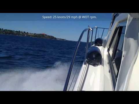 Princess 360 Yacht Leasure & Full Speed, With Engine Sound, CAT 3116 Engines