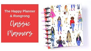 The Happy Planner | Rongrong Collection | Classic Planners
