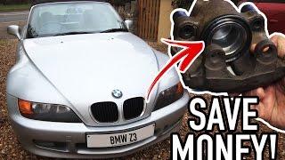 BMW Z3 -  Refurbishing my calipers (Sticky brake fix)