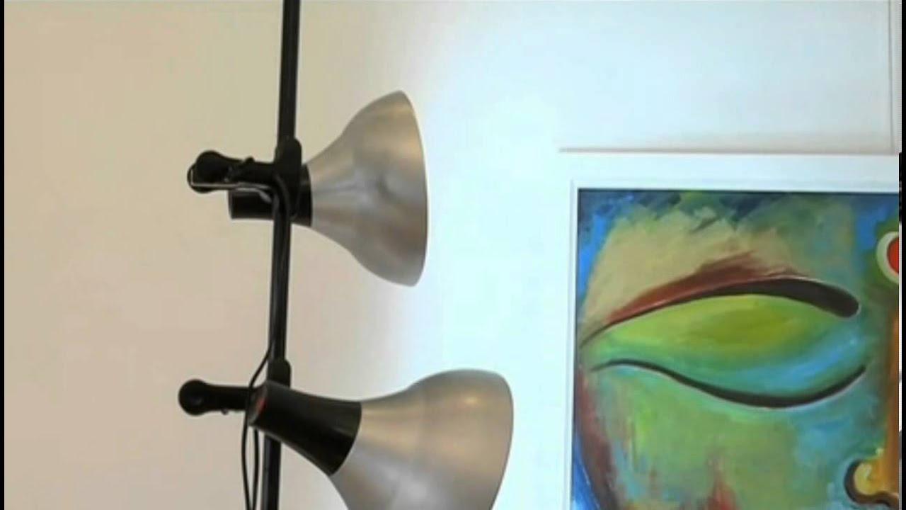 Iluminacion para pintar cuadros de noche o poca luz youtube - Iluminacion para cuadros ...