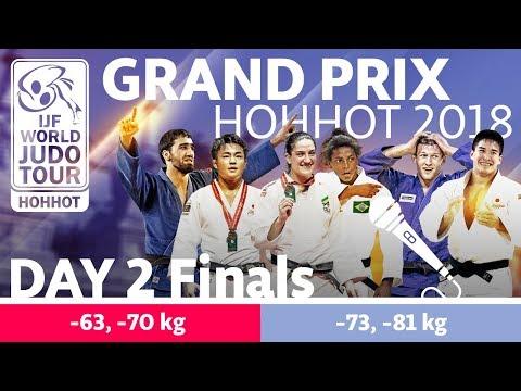 Judo Grand-Prix Hohhot 2018: Day 2 - Final Block