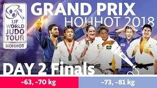 Judo Grand-Prix Hohhot 2018: Day 2 - Final Block