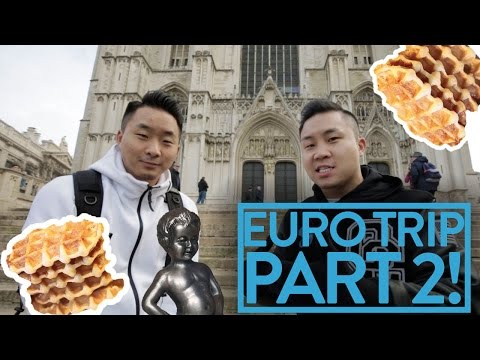 FUNG BROS GO TO BELGIUM! INCREDIBLE LIFE SWAP!