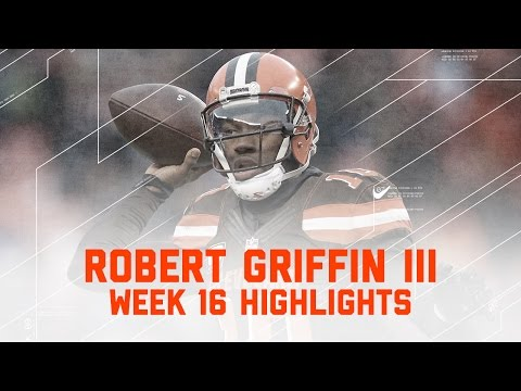 Robert Griffin III Guides the Browns to their First Win of 2016! | NFL Week 16 Player Highlights