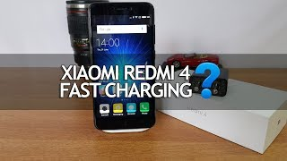 Xiaomi Redmi 4- Is Fast Charging Supported?