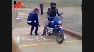 New trial system of Nepal || Boy riding easily ||