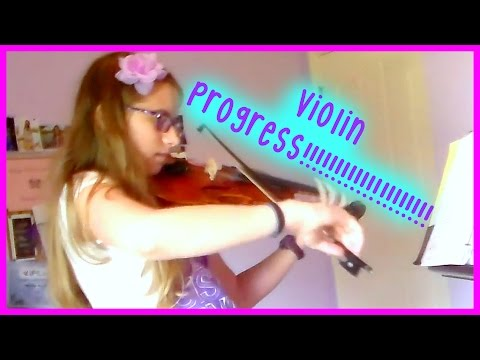 Violin Progress!!!!! 10 Months to 4 1/2 Years Progression!!!!! | Daniela Bodoh