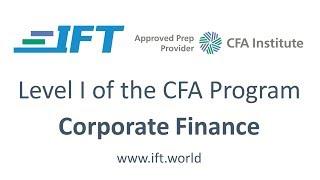 Level I CFA: CF Working Capital Management-Lecture 3