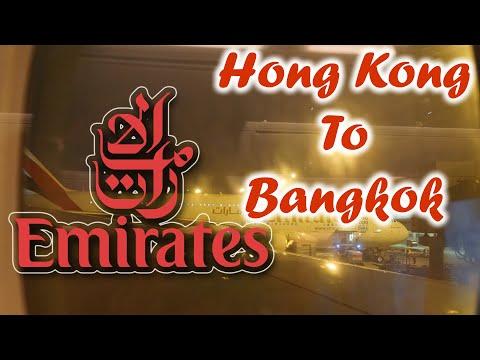 New Emirates' Economy Class Configuration EK385 Hongkong to Bangkok