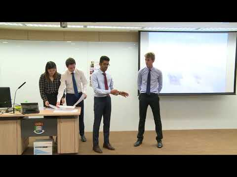 2017 Round 2 University of Auckland - HSBC/HKU Asia Pacific Business Case Competition