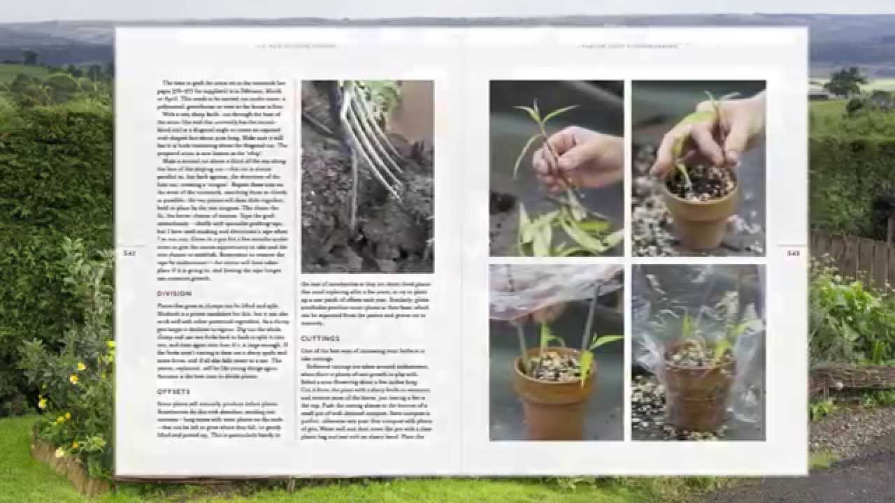 Kitchen Garden Book Mark Diaconos New Kitchen Garden Book Youtube