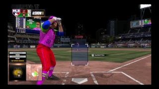 Mlb show 18 diamond dynasty with Nick and the god squad game 2