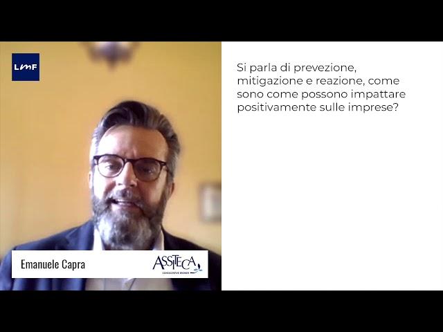 Coronavirus, come una azienda può affrontare l'emergenza - Emanuele Capra (Assiteca)