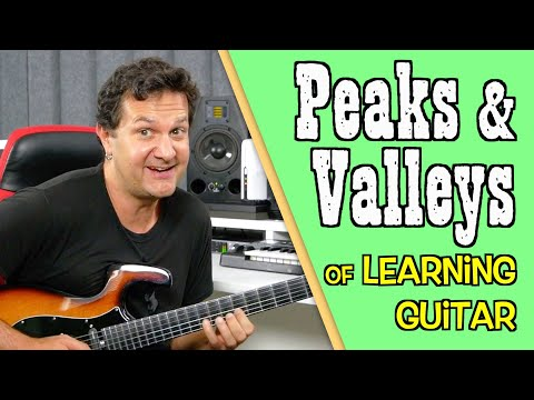 My Guitar Progress Timeline - The Peaks And Valleys Of learning Guitar