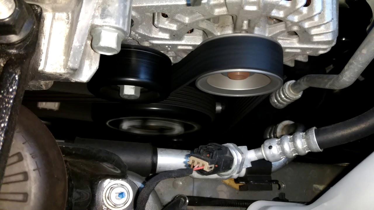 hight resolution of 2017 kia soul alternator engine drive belts operation