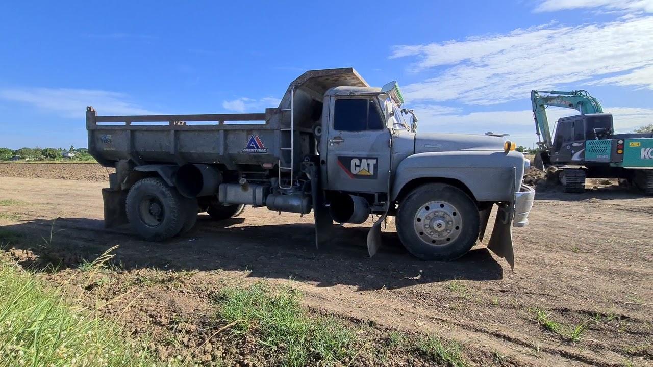 ฟังเสียงโบหวานๆกันแบบสะใจ กับหม้อใหญ่ 5 ใบ #แจ้นจัดหนัก dump truck Excavator