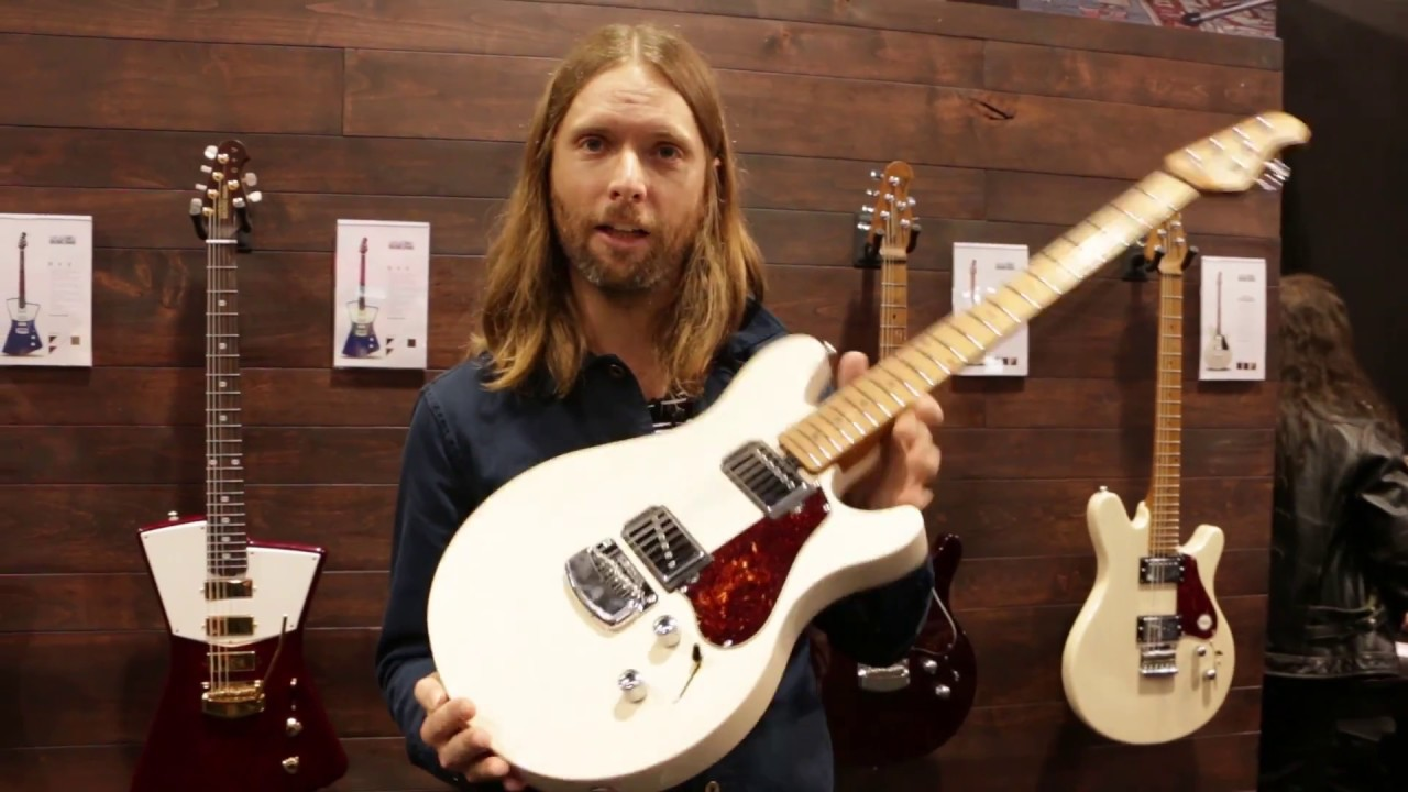 Perfekt Affordable James Valentine Signature Guitar From Sterling   MAROON 5   NAMM  2017 | GEAR GODS   YouTube