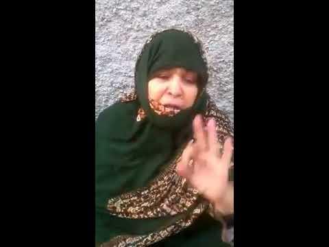 إحتجاج عائلة بحي القصبة بمدينة كليميم