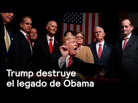 Trump destruye el legado de Obama - Foro Global