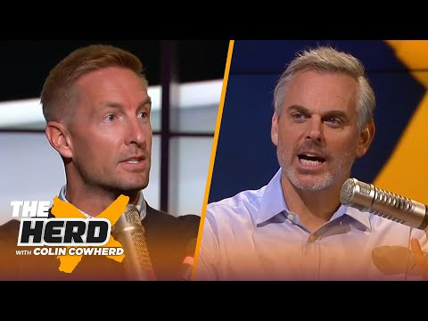 Joel Klatt on whether Mac Jones is the next Joe Burrow, Justin Fields & Ohio State | CFB | THE HERD