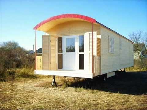 Casa mobila casa pe roti casa de vacanta youtube for Modeluri de case