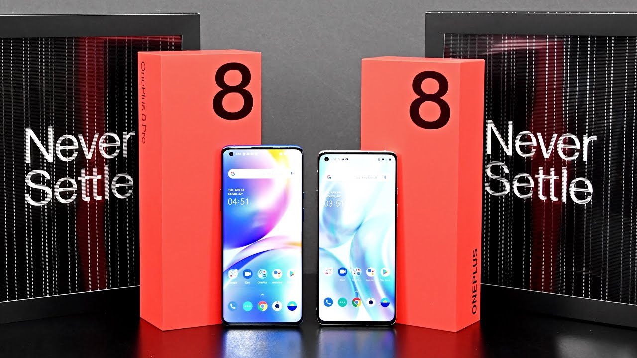OnePlus 8 vs 8 Pro: Unboxing & Review