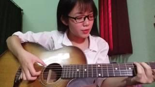 Thu Trinh .Tuổi hồng thơ ngây guitar