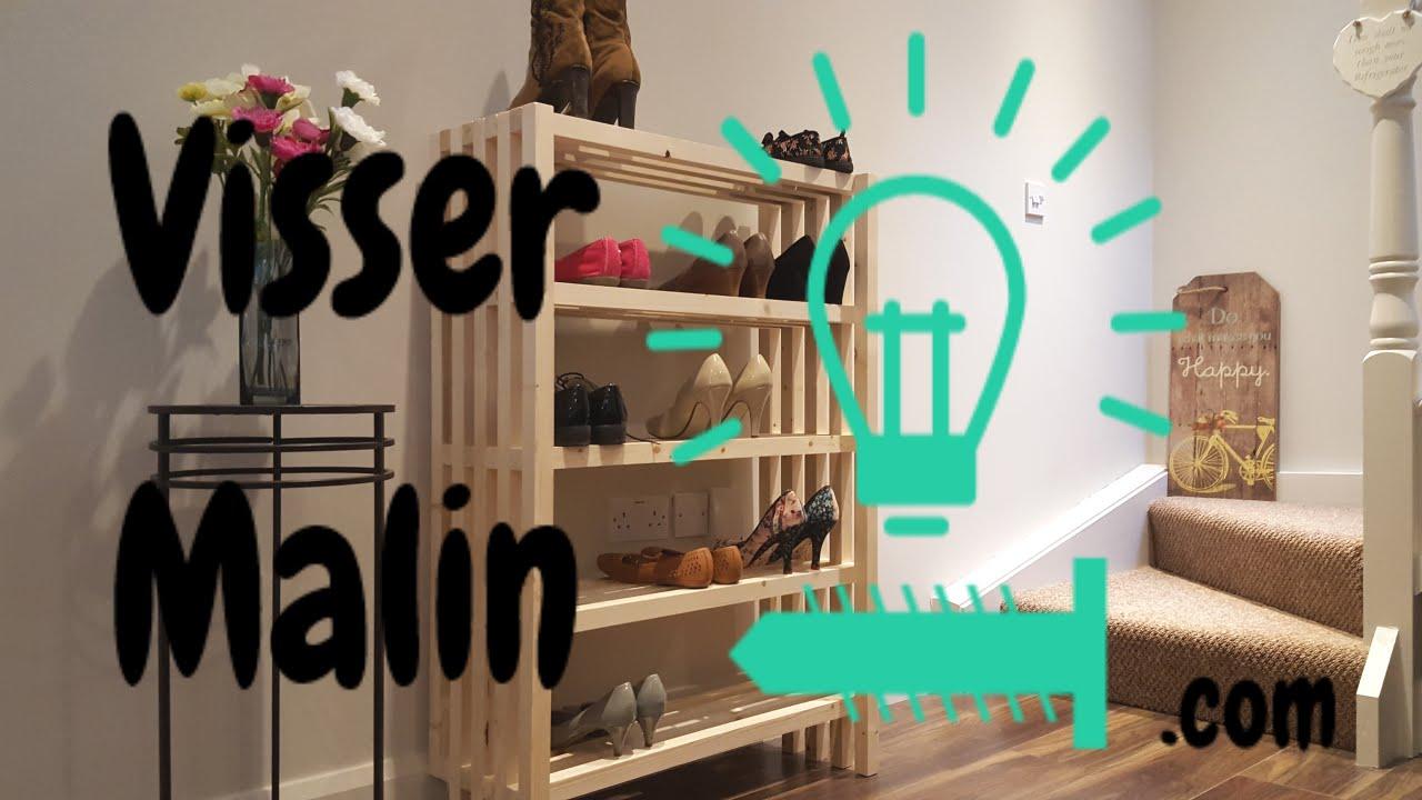 comment faire un meuble a chaussures ep24