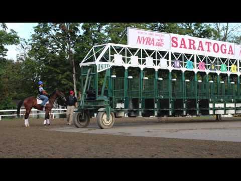 Beautiful day at Saratoga Racetrack