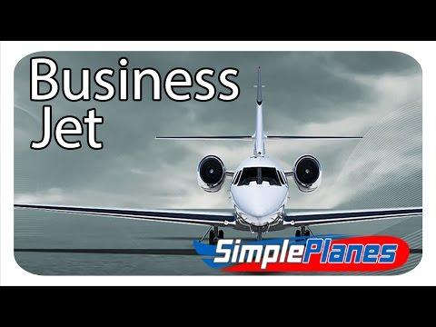 Business Jet - Simple Planes (Build)